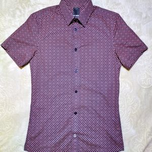 H&M Men's Designer Button Down Shirt Sz XS